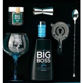 Gin Big Boss Conjunto Com 1 Copo 1 Frasco Zimbro 1 Colher 1 Doseador 1 Coador