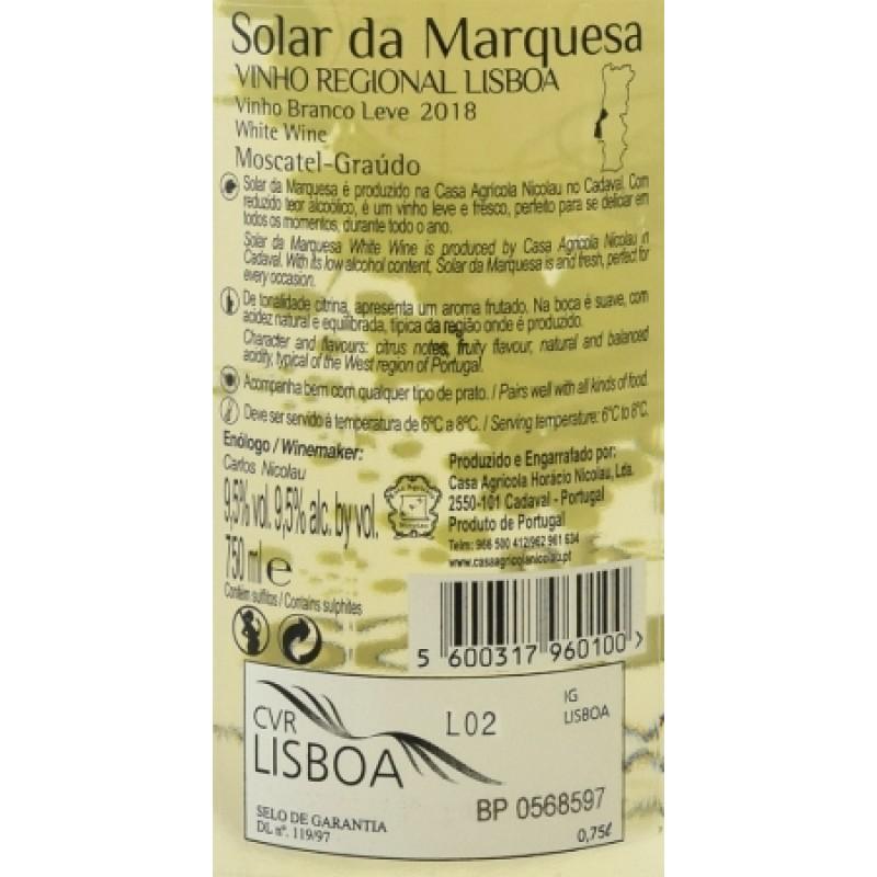 VINHO SOLAR DA MARQUESA BRANCO