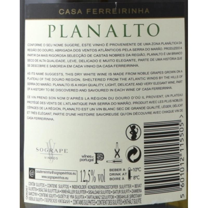 VINHO PLANALTO DOURO BRANCO