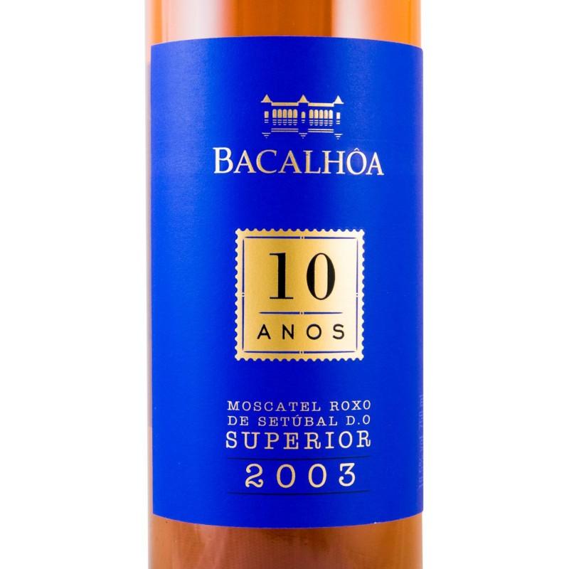 Moscatel de Setúbal Bacalhôa 10 anos Roxo Superior