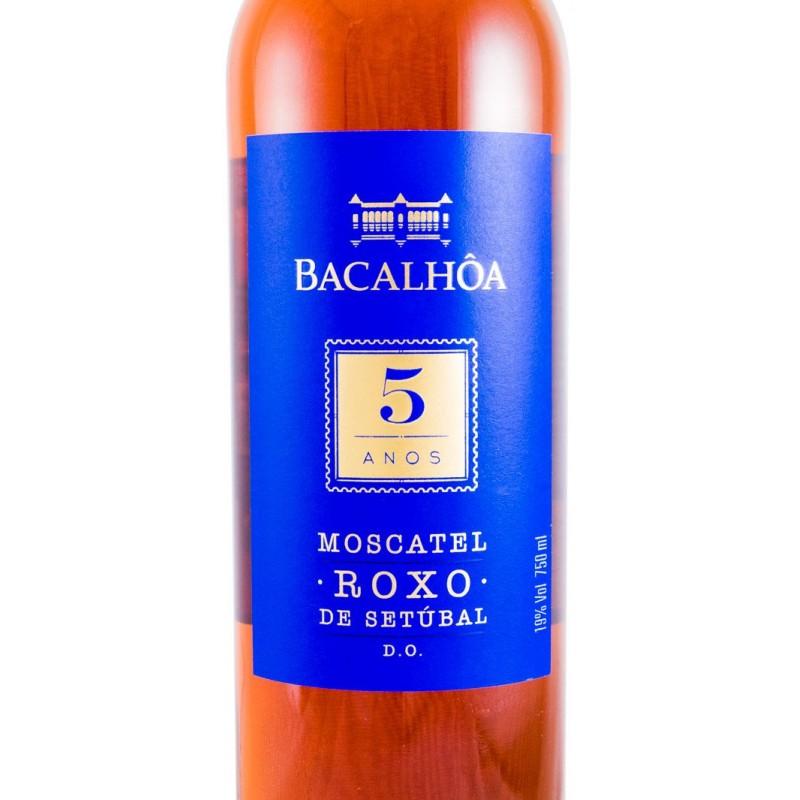 MOSCATEL ROXO BACALHOA 5 YEARS