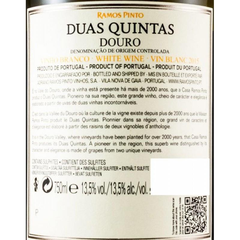 VINHO DUAS QUINTAS BRANCO DOURO