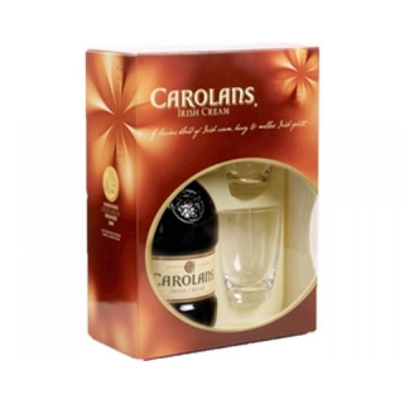 CAROLANS W/ 2 GLASS